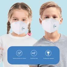 Kn95 <b>Mask</b> With Breathing Valve Dust-Proof Anti-Fog <b>4</b>-<b>Layer Child</b> ...