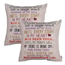 2 Word Quotes Mesmerizing Word Throw Pillows Amazon