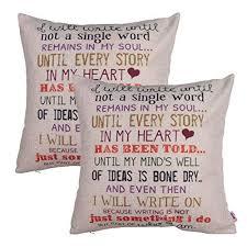 2 Word Quotes Mesmerizing Word Throw Pillows Amazon