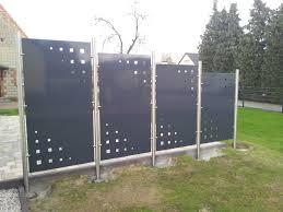 Edelstahlsichtschutz Cabiralan Com Edelstahl Und Aluminium Sichtschutz
