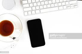 white table top view. Wonderful Table Smart Phone On White Office Table Top View Shot With Computer Keyboard Throughout White Table Top View H