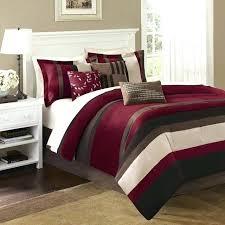 piece duvet cover set jla madison park boulder stripe polyester comforter set red contemporary comforters andmadison maxine 4 pc madison