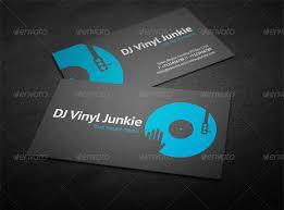 Dj Business Cards Templates Free 12665