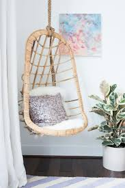 kids hanging chair for bedroom. rattan hanging chair -tween-to-teen bedroom makeover-100% virtually designed kids for a