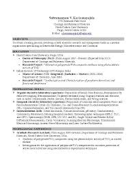 Resume Examples For College Students Objective Sample Resume For
