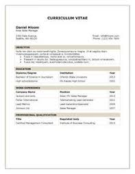 Tabular Resume Templates: 15 Organized structured layouts for one-page  resumes.
