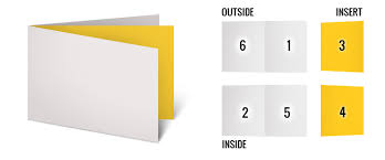 Six Panel Brochure Six Panel Brochure Template 6 Page Brochures Foster Printing