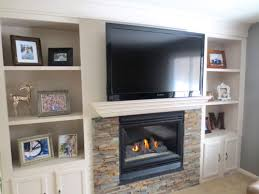 Remodelaholic | Fireplace Makeover with Built-In Shelves