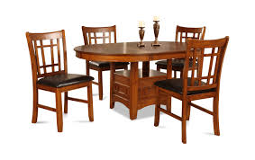 Mission Park Dining Table With 4 Chairs Dock86