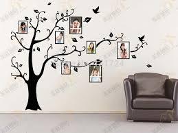 family tree wall sticker frames home decoration wall art decor within family tree wall art