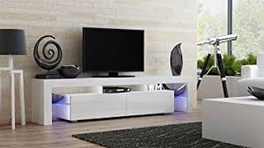 Amazon TV Stand MILANO 200 Modern LED TV Cabinet Living