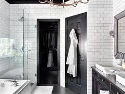 White Door Black Trim Bold Black Interior Doors Inspiration And Tips Hgtvs
