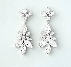 chandelier crystal earrings wedding allie wedding earrings chandelier bridal earrings vintage wedding crystal earrings bridal jewelry