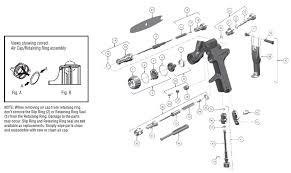 Tekna Air Cap Chart Sripro Spot Repair Paint Gun