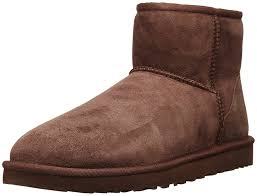 Ugg women w s classic mini 5854 boots chocolate brown women s shoes,uggs  leather boots Sale,beautiful in colors
