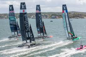 「the america's cup race now」の画像検索結果