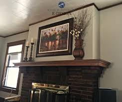 best paint color for dark wood trim brick fireplace kylie m interiors e design paint colour consultant sherwin williams balanced beige