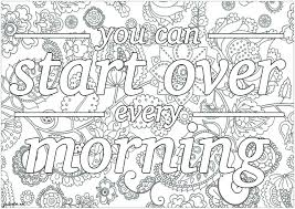 Coloring quotes™ coloring books take your creativity to the next level by turning each coloring page into a personalized work. 20 Free Printable Printable Adult Coloring Pages Quotes Everfreecoloring Com