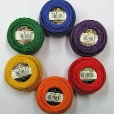 Dmc Pearl Cotton 8 Color Chart 67 Memorable Dmc Perle 8 Color Chart