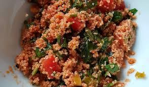 kisir traditional bulgur salad from