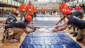 National Steel Bridge Competition Comes To Illinois Civil And