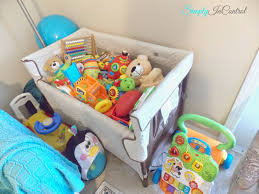 Baby Play Area Simply In Control Apartment Living Room And Play Area Combo