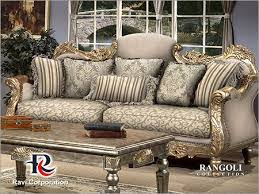 ravicorp specific use designer fabric sofas living room general use home furniture type trade india