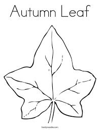 Small Picture Fall Leaf Coloring Page Fall Leaves Worksheets And Leaves Coloring
