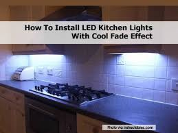 how to install kitchen lighting. Beautiful Install Ledkitchenlights And How To Install Kitchen Lighting O