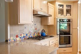 Unique Kitchen Unique Kitchen Backsplash By Mercury Mosaics With Bubbles And