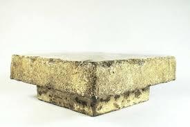 gallery of amazing stone coffee table regarding custom tables idea 13 gorgeous pertaining to 17