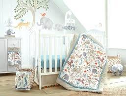 new in package jungle baby crib bedding set teal orange elephant monkey themed sets jungle crib bedding