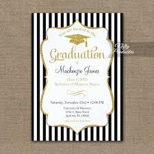 Elegant Graduation Announcements Elegant Graduation Announcement Invitation Printed Nifty
