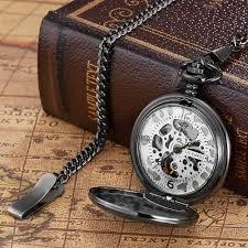 online get cheap men pocket watch aliexpress com alibaba group hot new oyw full steel case pocket watch men montre homme male clock man mechanical