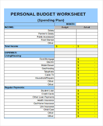 Personal Weekly Budget Templates 25 Budget Templates In Excel Free Premium Templates