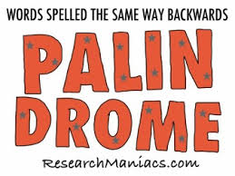 Palindrome Words Words Spelled The Same Way Backwards