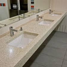 commercial bathroom sinks. Commercial Restroom Countertop By Concreteworks Bathroom Sinks D