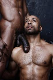 Picture of nude black male models