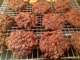 double chocolate coconut haystacks