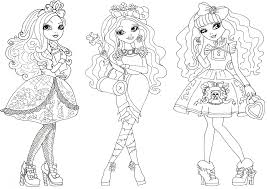 Small Picture Ever after high coloring pages The Sun Flower Pages