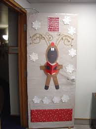 office christmas door decorations. Wonderful Christmas Christmas Door Decoration At Office 2012 Kirsch Diamond McAlister On Decorations M
