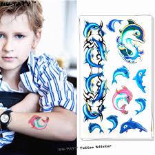 Nu тати синий дельфин ребенка временные средства ухода за кожей книги по искусству