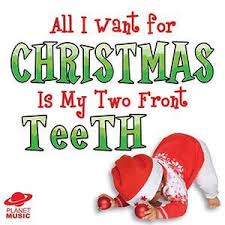 all i want for christmas is my two front teeth sheet music