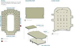 Floor Plans War Memorial Arena The Oncenter Nicholas J