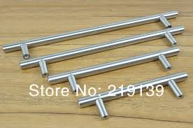 1 pc new free furniture drawer kitchen cabinet stainless steel door handle pull bar