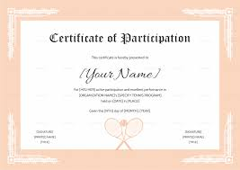 soccer awards templates sample certificate of participation best of template conference