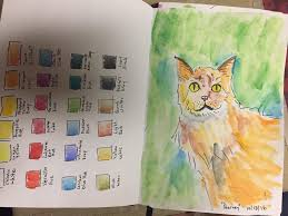 Draw A Thing 10 18 16 Harvey The Cat Color Chart Cheeseism