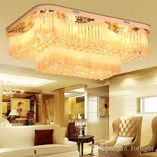 new design royal led crystal round rectangle chandeliers light k9 crystal pendant chandelier ceiling lamp hotel villa project chandelier wire chandelier