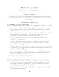 Management Resume Objectives Best of Management Resume Objective Examples Product Manager 24 Operations