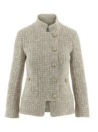 Chanel Stand Collar Jacket